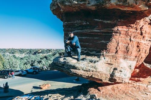 Бесплатное стоковое фото с активный отдых, геологическое образование, геология, люди