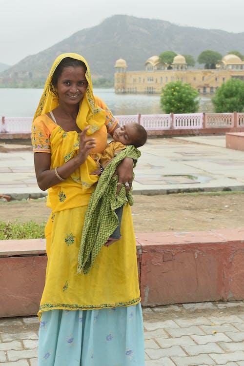 Základová fotografie zdarma na téma asiatka, dítě, indka, jaipur