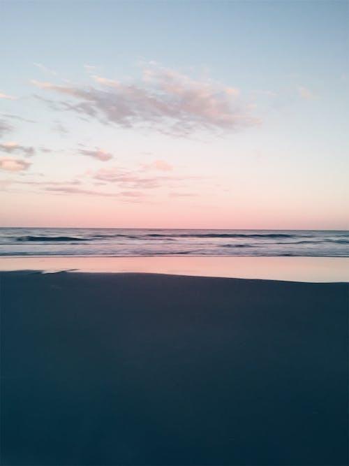 คลังภาพถ่ายฟรี ของ กระจก, ชัดเจน, ชายหาด, ตะวันลับฟ้า