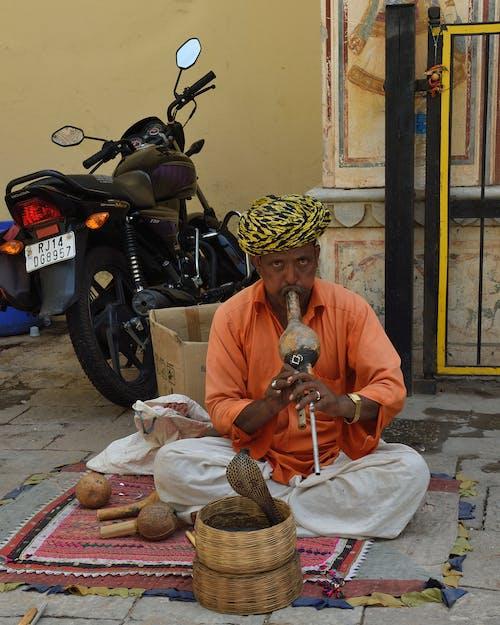 Kostenloses Stock Foto zu charmeur, indien, indisch, jaipur