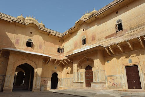 Gratis stockfoto met amer fort, citadel, india, Indiaas