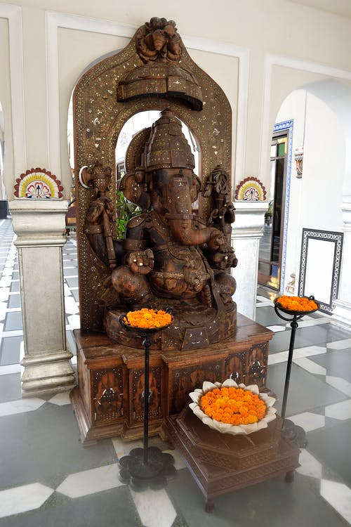 Fotobanka sbezplatnými fotkami na tému drevený, ganéša, India, jaipur