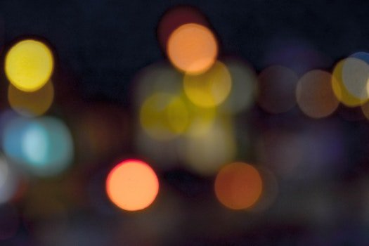 Free stock photo of light, traffic, night, bokeh