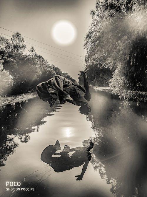 Imagine de stoc gratuită din apă curgătoare, călătorie, Pexels, salt