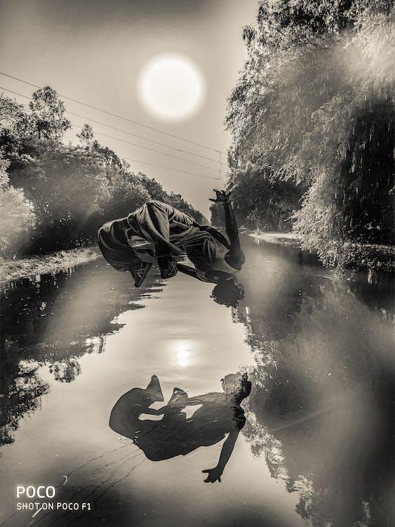Free stock photo of jump, pexels, river
