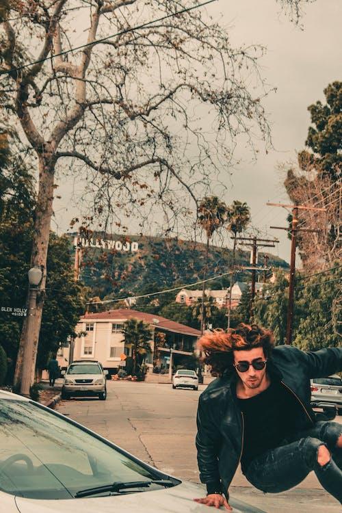 Gratis lagerfoto af vej til hollywood