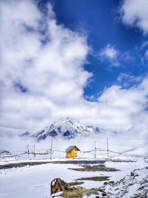 Foto d'estoc gratuïta de a l'aire lliure, alps, altitud, cel