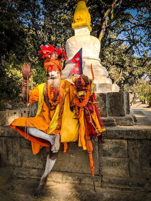 Δωρεάν στοκ φωτογραφιών με άγαλμα, άνδρας, Άνθρωποι, Βούδας