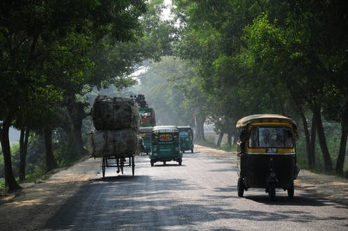 Gratis arkivbilde med baklys, india, kollektivtransport, land
