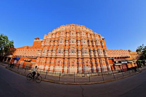 Free stock photo of architecture, Hawa Mahal, hawamahal