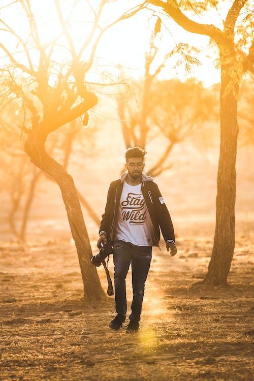 Foto stok gratis alat, berjalan, di luar rumah, Fajar
