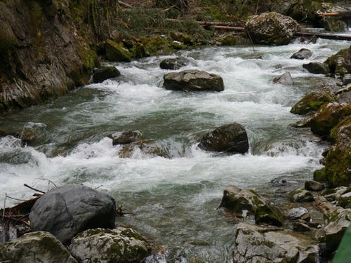 Photos gratuites de cailloux, cascade, eau, fleuve