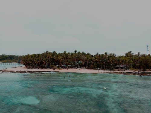 Foto d'estoc gratuïta de illa, mar, oceà, paradís