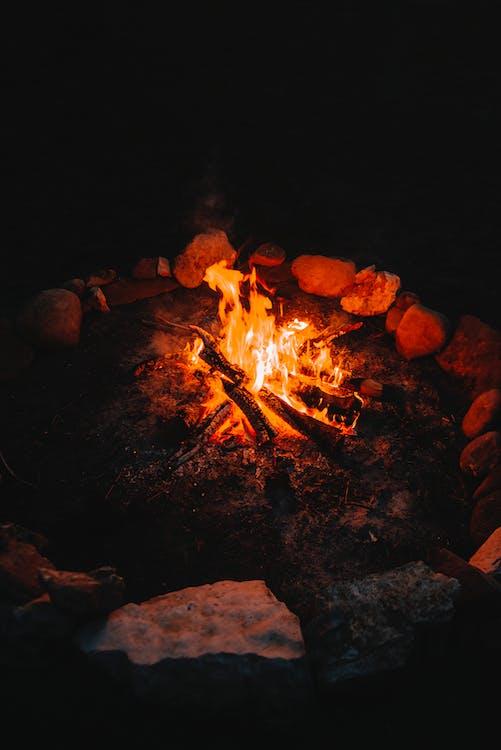 Wooden Bonfire
