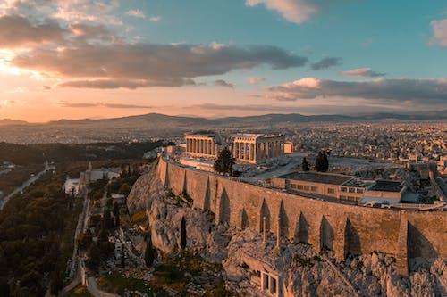 Безкоштовне стокове фото на тему «аерознімок, Аерофотозйомка, архітектура, Афіни»