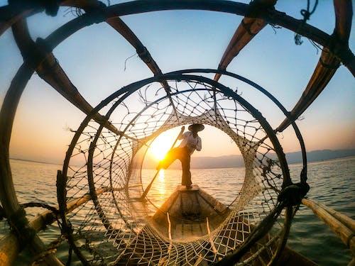 Fotos de stock gratuitas de amanecer, anochecer, mar, Oceano