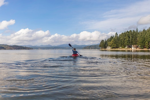 Free stock photo of canoe, puget sound, cayaking, cayak