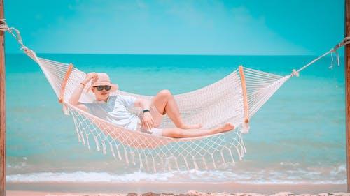 Kostenloses Stock Foto zu entspannung, ferien, freizeit, hängematte