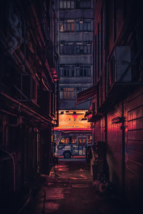 Urban Photo of an Alley