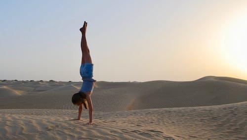 Δωρεάν στοκ φωτογραφιών με αμμοθίνες, αμμόλοφοι, άμμος, άνυδρος