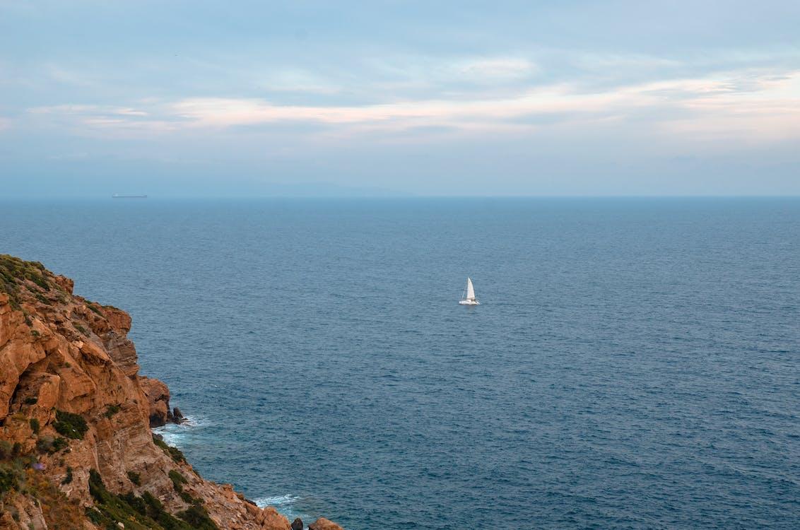 barca a vela, barche a vela, bel paesaggio