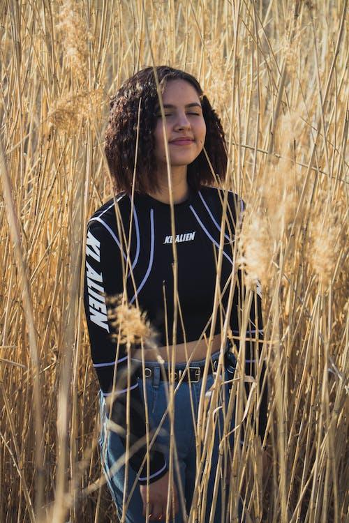 Gratis lagerfoto af afgrøde, agerjord, bane, græs