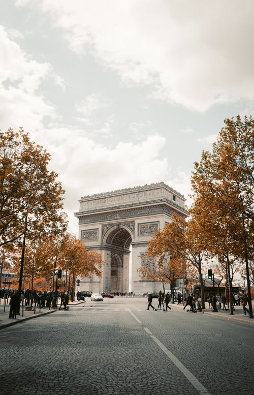 Photos gratuites de arc, architecture, attraction touristique, route