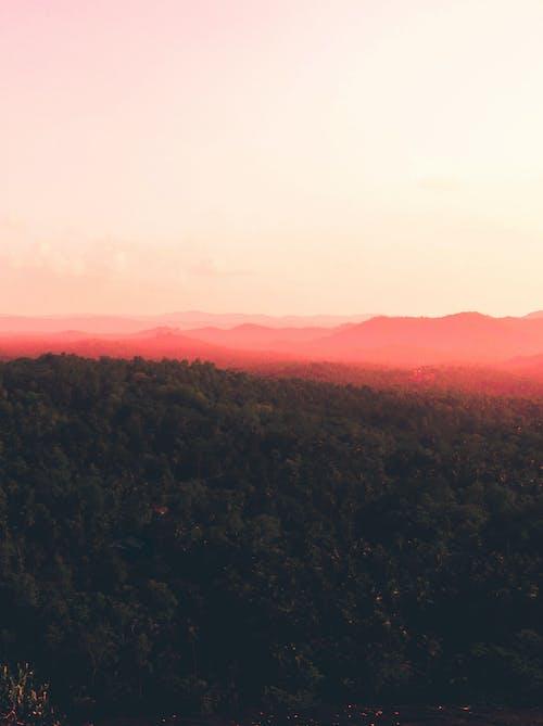 Darmowe zdjęcie z galerii z góry, niebo, piękny, światło słoneczne
