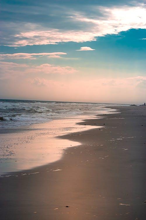 Fotos de stock gratuitas de agua, arena, dice adiós, Oceano