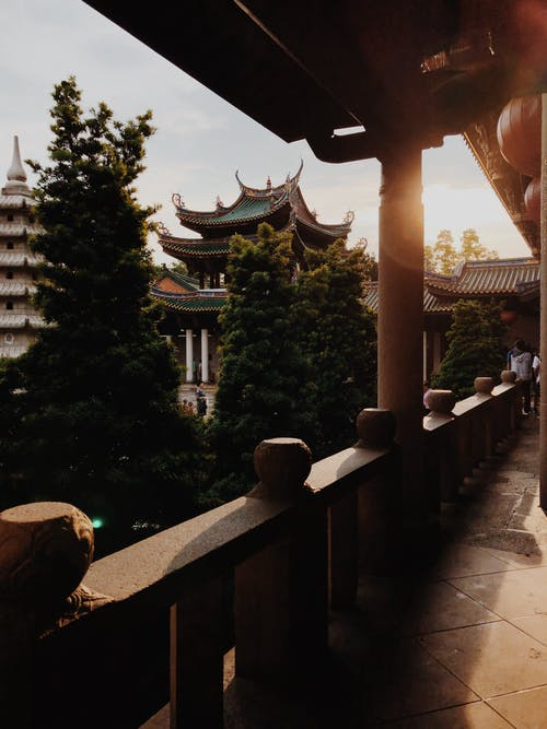 Gratis arkivbilde med arkitektur, Asiatisk arkitektur, bygning, dagslys