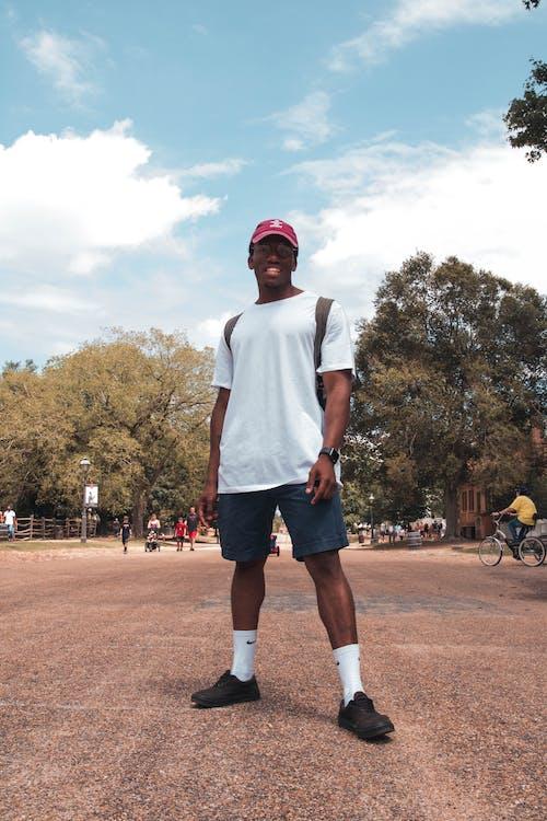 Základová fotografie zdarma na téma černoch, móda, muž, nosit