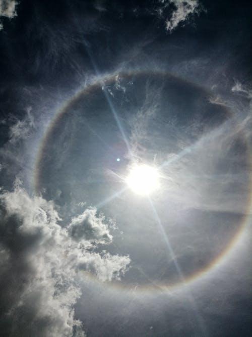 Δωρεάν στοκ φωτογραφιών με ήλιο φωτοστέφανο, ήλιος, ουρανός