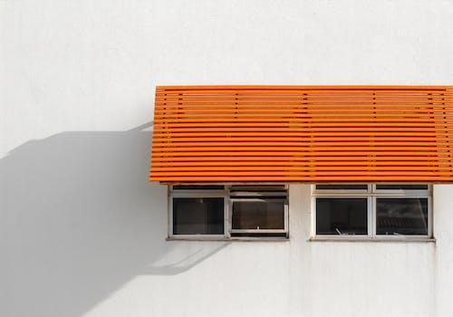 オレンジ, ガラス, キャノピー, ミニマリズムの無料の写真素材