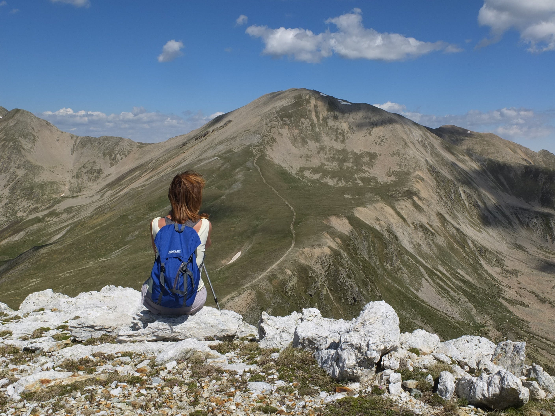 abenteuer, aussicht, berg