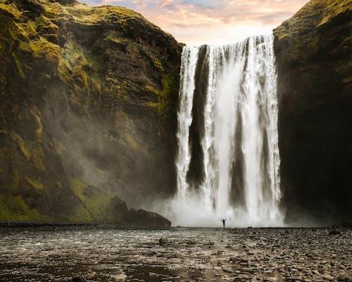 Ilmainen kuvapankkikuva tunnisteilla luonto, ulkona, usva, vesiputoukset