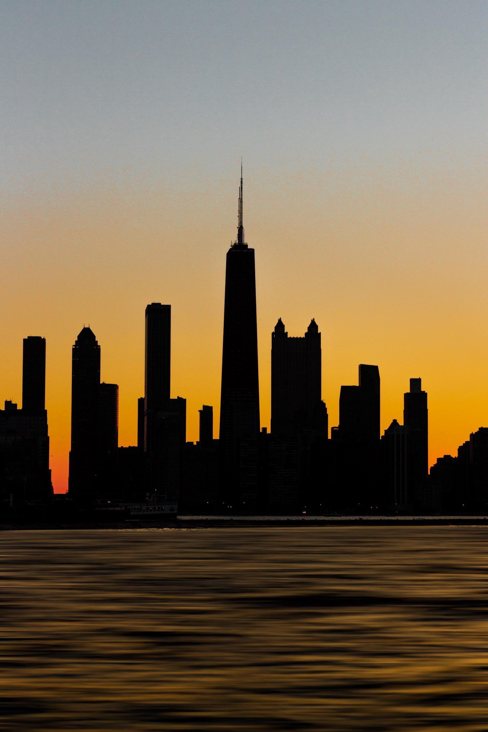 Silhouette Of Buildings