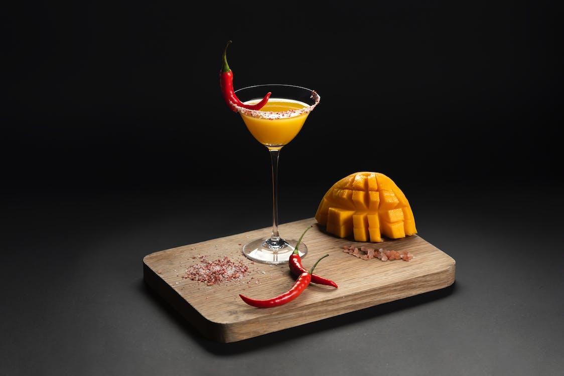 고추, 과일, 과일 주스