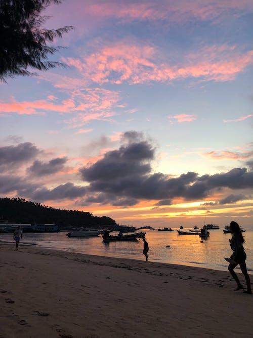 Gratis stockfoto met Azië, strand, zonsondergang, zonsondergang strand