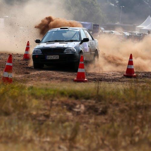 경주, 도로, 먼지, 서두르는의 무료 스톡 사진