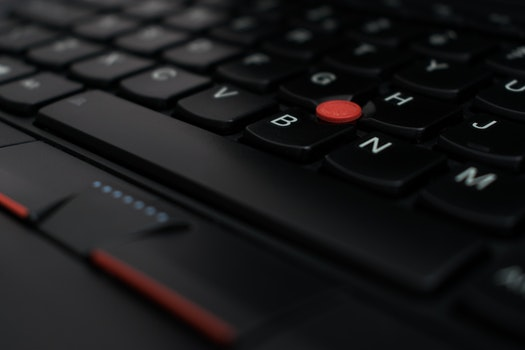 Free stock photo of laptop, connection, technology, blur