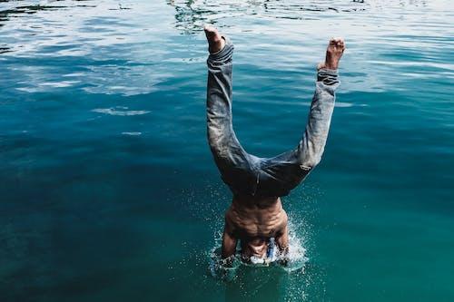 Foto stok gratis air, laut, lautan, menyelam