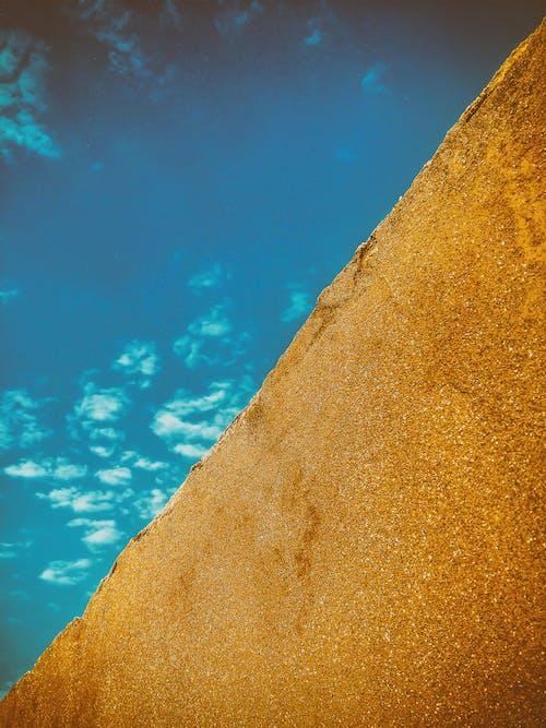 Gratis stockfoto met behang, beton, blauwe lucht, blikveld