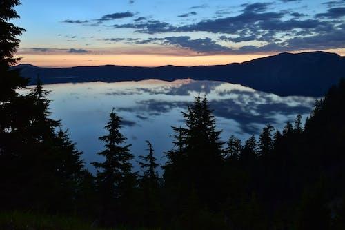 Immagine gratuita di alba, Crater Lake, parco nazionale del lago del cratere