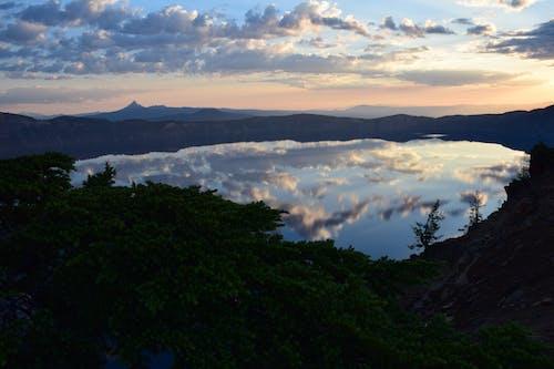 Foto stok gratis awan, Danau Kawah, matahari terbit, taman nasional danau kawah