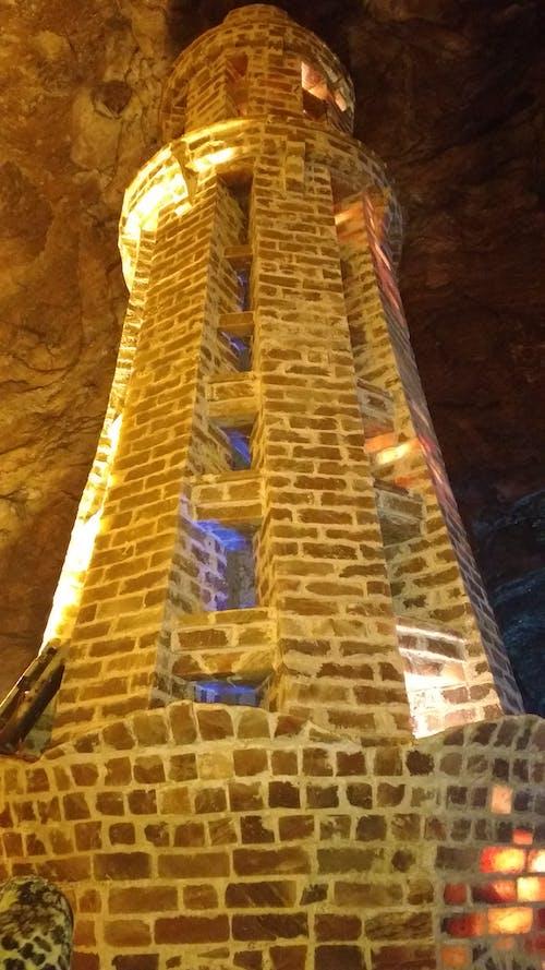 Kostenloses Stock Foto zu bergwerk, gebäude, höhle
