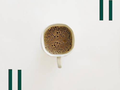 Fotobanka sbezplatnými fotkami na tému 4k tapety, čierna káva, iPhone, káva