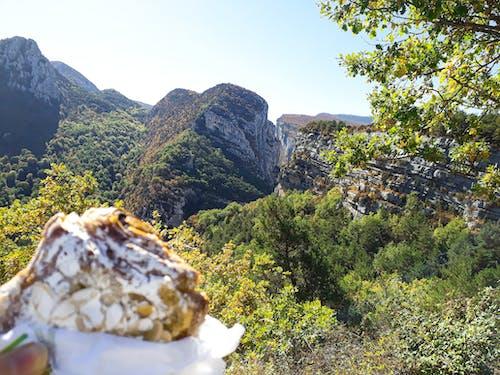 Kostenloses Stock Foto zu aussicht, berg, essen, französische riviera
