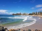 beach, australia, surf