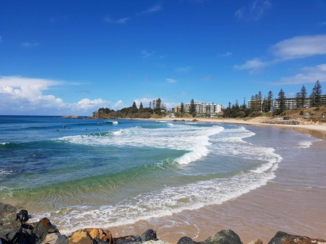 Free stock photo of beach, australia, surf, Port Macquarie