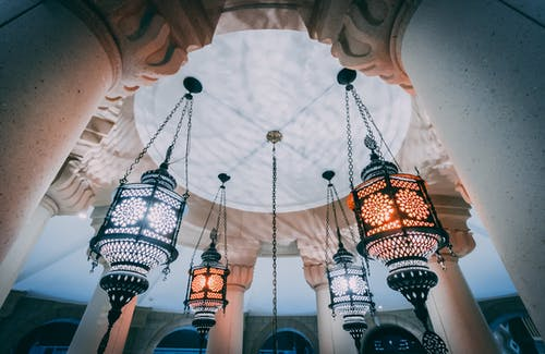 Free stock photo of chandelier, culture, Historic Building, islamic architecture